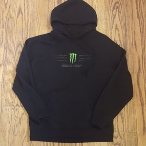 Monster Energy Drink Hoodie Sweatshirt L